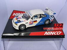 NINCO 50270 SLOT CAR BMW M3 GTR #42 MOTORSPORT JJ.LENTO-J.MULLER MB