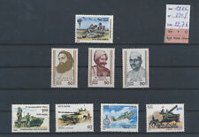 LM80817 India 1986 tanks army soldier fine lot MNH cv 22,7 EUR