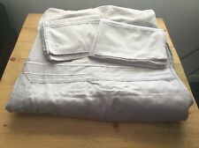 Jasper Conran Grey Double Duvet & 2 Matching Piloowcases