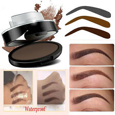 3in1 Natural Type Stamp + Eyebrow Powder Makeup Brow Delicated Shadow Definition