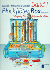 Blockflötenbox Band 1 (+2 CD's) :  für Sopranblockflöte Hellbach +1 Bleistift