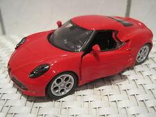 Alfa Romeo Auto Modelauto ca.11cm mit Rückzugmotor  *NEU* Metallmodel