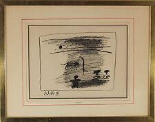 "Pablo Picasso  ""Les Banderilles""  Original Transfer Lithograph"