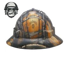 Custom Hydrographic Safety Hard Hat JACK DANIELS WIDE