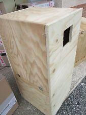 grand nid perruche alexandre en bois