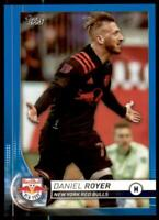 2020 MLS Base Blue #26 Daniel Royer /99 - New York Red Bulls