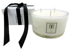 TCC Oudh Scented Candle 3 wick Glass Bowl 80 hour