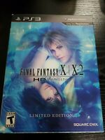 Final Fantasy X/X-2 HD Remaster Limited Edition For PlayStation 3 PS3 RPG