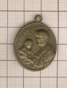 petite  médaille religieuse ancienne St José