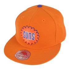 new arrivals b0d7e f18af Phoenix Suns Mitchell   Ness Orange Throwback Fitted Cap   Hat 7 ...