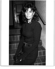 Jane Badler rare Candid press still Stamped Original photo 1986 V Star
