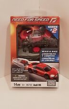 Mega Bloks Need For Speed Audi R8 Collectable Car / Key Launcher - Brand New