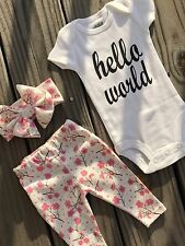 Beautiful Baby Coming Home Outfit. Going Home From Hospital