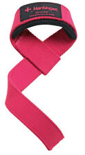 Harbinger Women's Padded Cotton Weight Lifting Straps - Pink