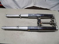04 Hyosung Aquila GV 250 Complete Front Forks w/ Triple Tree ~FastFreeShip~