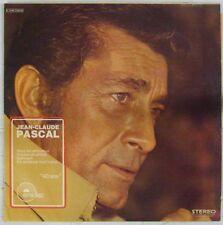 Jean-Claude Pascal 33 tours interprète Serge Gainsbourg Emidisc