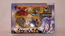 Digimon Pendulum 5 Figuren+Karte Original Bandai Japan 1999 Item 9939E