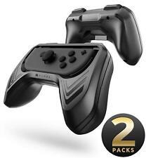 Mumba Joy-Con Controllers Handle Grip Kit - Black - Pack of 2