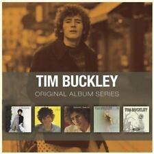 TIM BUCKLEY - 5CD ORIGINAL ALBUM SERIES (NEW & SEALED) Inc Blue Afternoon Lorca