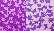 Pack of 100+ small decorative butterflies.Lilac or Purple. Weddings crafts, art