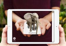 Animal 4D cards, Animal 4D Food Cards AND 6 animals bonus card