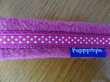 Soft Chinese Crested/Whippet Fleece collar