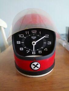 Heuer Helmet Clock For Parts