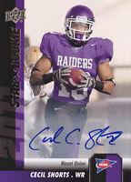 2011 Upper Deck Rookie Autographs #96 Cecil Shorts RC Auto