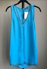 Urban Outfitters Turquoise Studded Dress XS NWT