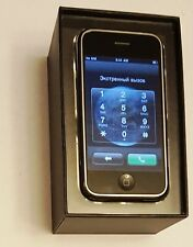Apple iPhone 1st Generation - 8GB - Black (AT&T) A1203 (GSM) in a matching box