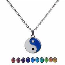 NEW Color Change Ying Yang Mood   Yin Pendant Necklace