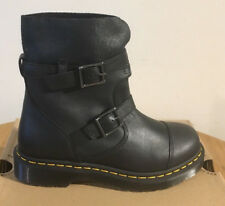 DR. Martens Kristy VIRGINIA NERO + scurire Stivali in Pelle Scamosciata Misura UK 3