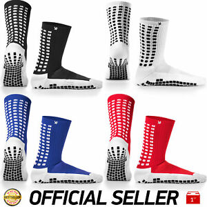 LUX Anti Slip Football Socks Non Slip Grip Pads Sports (INNER AND OUTER GRIPS)