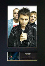 MUSE Signed Top Quality Mounted Autograph Photo Print (A4) No195