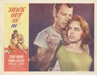 """""""SHACK OUT ON 101""""-ORIGINAL  LOBBY CARD-NOIR-TERRY MOORE-LEE MARVIN-SEMINAL SHOT"""