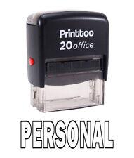 Printtoo Personnel Self Encrage Rubber Stamp Office Personnalisé Timbre