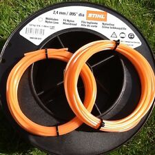 Stihl 2.4mm x 20 Metres Round Strimmer Brushcutter Line Cord Part 00009302246