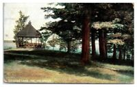 1907 The Grove, Sebago Lake, Maine Postcard
