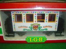 Lgb 1987 Circus Passenger Car Lehmann no. 3036