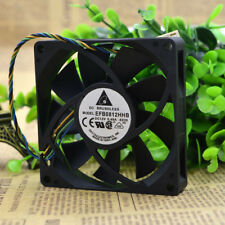 DELTA EFB0812HHB 12V 0.4A 80*80*15MM 8CM PWM 4Pin Cooling Fan