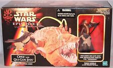 1998 HASBRO--STAR WARS EPISODE 1--OPEE AND QUI GON JINN FIGURE SET (NEW)