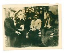 (USSR 1950th) Vsevolod Bobrov and friends photo RARE - 1972 Summit Series coach