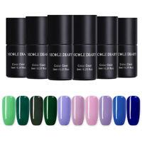 NICOLE DIARY 6ml Peel Off One Step UV Gel Polish Pure Tips Soak Off Nail Gel