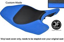Vinilo Negro Y Azul Claro Personalizado Para Honda Hornet CB 600 02-04 Cubierta de asiento solamente