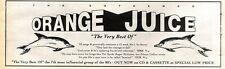 1/8/92PGN39 ORANGE JUICE THE VERY BEST OF ALBUM ADVERT 3X11""