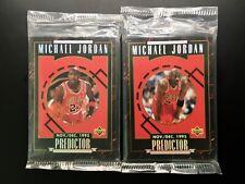 1995 Upper Deck Michael Jordan Predictor factory sealed sets #R1-R10 & #H1-H10