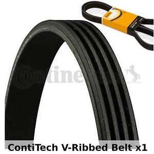 ContiTech V-Ribbed Belt - 4PK1511 , 4 Ribs - Fan Belt Alternator, Drive Belt