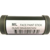CAMOUFLAGE PAINT BLACK / OLIVE DRAB NATO DOUBLE ENDED STICK - TAS
