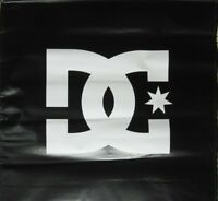 DC Skateboard Snowboard Sneaker Dealer Shop Big Banner Flawless NEW old stock