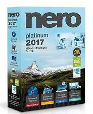 Nero 2017 Platinum Vollversion Win De